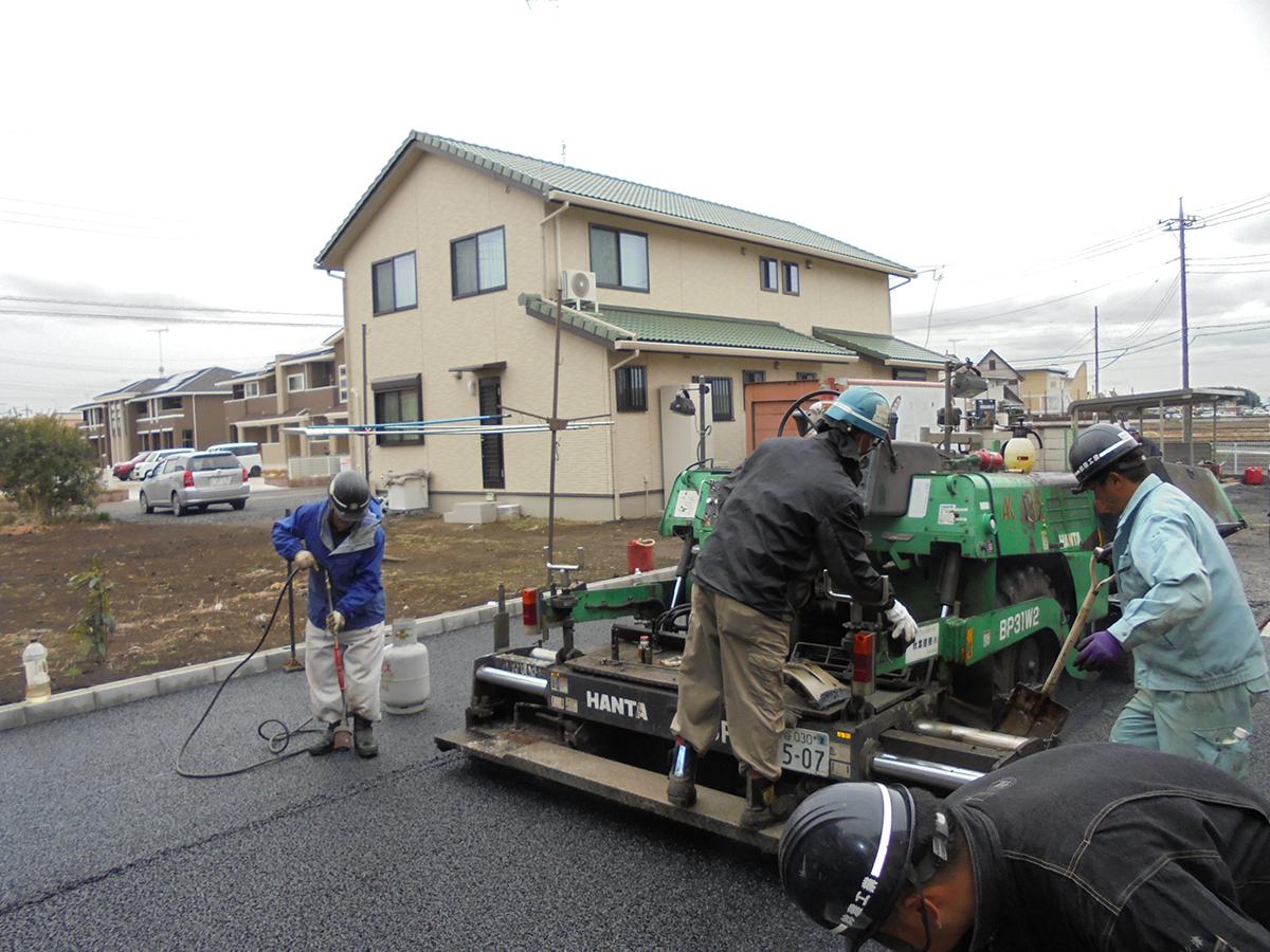 民間駐車場(加須市)